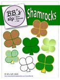 FREE St. Patrick's Day Shamrock Clip Art