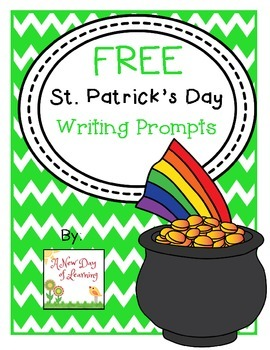 FREE St. Patrick's Day Writing Prompts