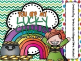 FREE - St. Patrick's Snack Bag Labels Lucky Charm ENGL & SPAN