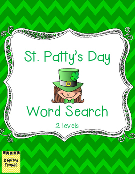 FREE St. Patty's Day Word Search