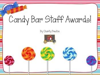 FREE Staff Candy Bar Awards
