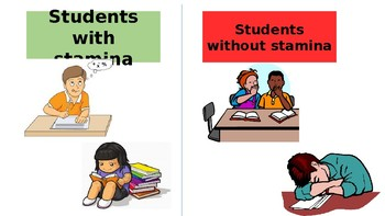 FREE Stamina Powerpoint