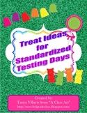 FREE Standardized Testing Treat Templates
