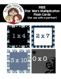 FREE Star Wars Multiplication Fact Cards