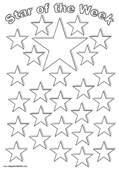FREE Star of the Week Handout