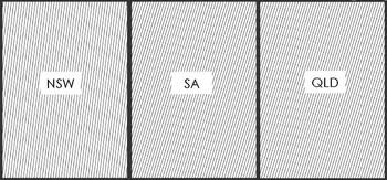FREE State Handwriting Slope Cards (for Australian states)