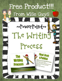 FREE Steps of the Writing Process PowerPoint