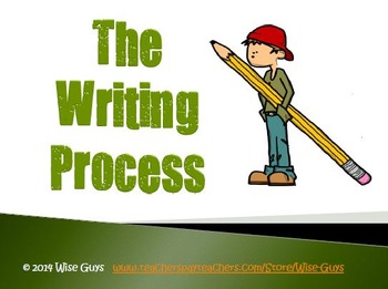 FREE Steps of the Writing Process Activity