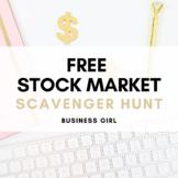 FREE Stock Market Scavenger Hunt