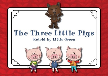 picture about Three Little Pigs Story Printable called Cost-free Tale E book: The 3 Very little Pigs
