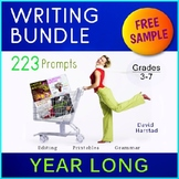 FREE - Story Elements   3 Suspense Writing Prompts (Gr. 3-7)