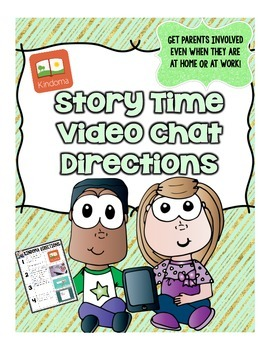 FREE Story Time Video Chat Directions
