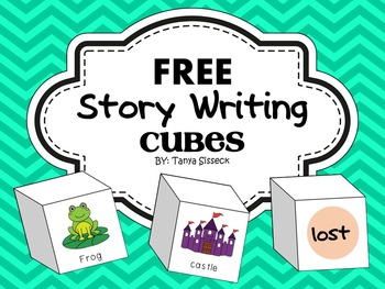 FREE Story Writing Cubes