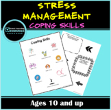FREE!  Stress Management Coping Skills Worksheet