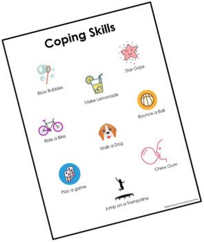 FREE! Stress Management Coping Skills Worksheet | TpT