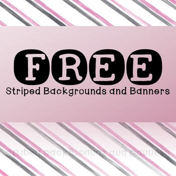 FREE - Stripes Backgrounds and Banners