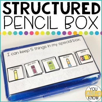 FREE Structured Pencil Box