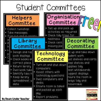 FREE Student Committees