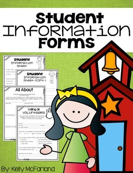 FREE Student Information Forms