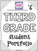 FREE Student Portfolio Cover Pages