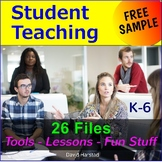 FREE - Student Teacher Binder
