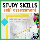 FREE Study Skills Activity: Self Assessment Worksheet