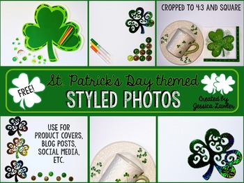 FREE Styled Images {St. Patrick's Day} for Teachers and Te