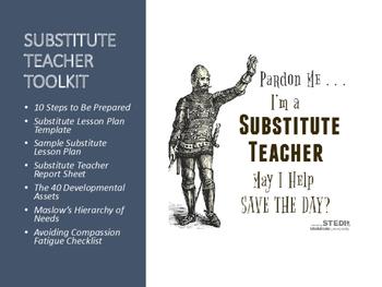 FREE Substitute Teacher Toolkit