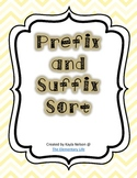 Suffix and Prefix Sort