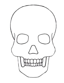FREE Sugar Skull Template