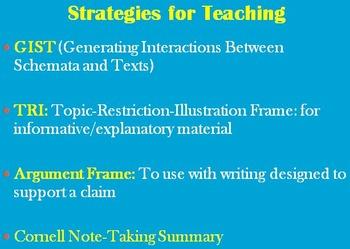 FREE! Summary Writing – Teacher Training Presentation