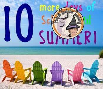 FREE Summer Countdown Days of School Left Until SUMMER Smartboard Slides