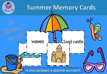 Summer Memory Cards