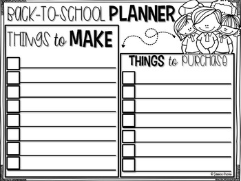 FREE Summer Planners {Let's Stay Organized this SUMMER}