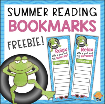 FREE Summer Reading Bookmarks