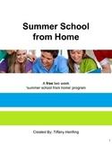 FREE Summer School from Home Program