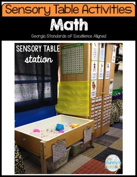 FREE Summer Sensory Table Activities