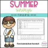 FREE Summer Surveys