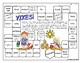 FREE Summer Theme Word Game - Yikes! Partner Game