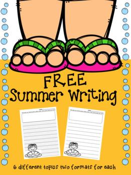 FREE Summer Writing