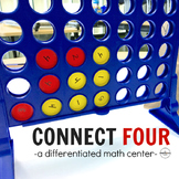 FREE - Sums of 10 & 20 with Connect 4: A Math Center