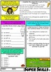 FREE Literacy Skills Activities Punctuation, Vocabulary, Grammar Year 5 and 6