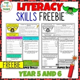 FREE Literacy Skills Activities Punctuation, Vocabulary, G