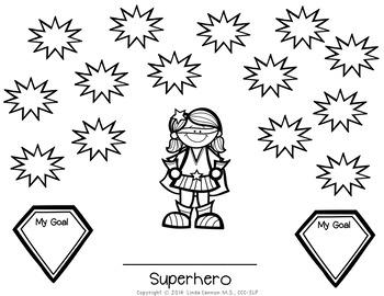 FREE Superhero Reward  Sheets for Any Activity