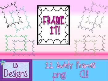 {FREE} Swirly Frames