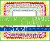FREE Swirly Sticker Styled Frames