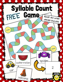 FREE Syllable Count Game
