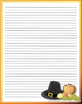 Printable thanksgiving stationery primary lines by brenda barron printable thanksgiving stationery primary lines spiritdancerdesigns Gallery