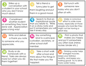 FREE: THE 30 DAY HAPPY STUDENT CHALLENGE