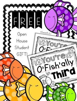 FREE THIRD GRADE Student Gift